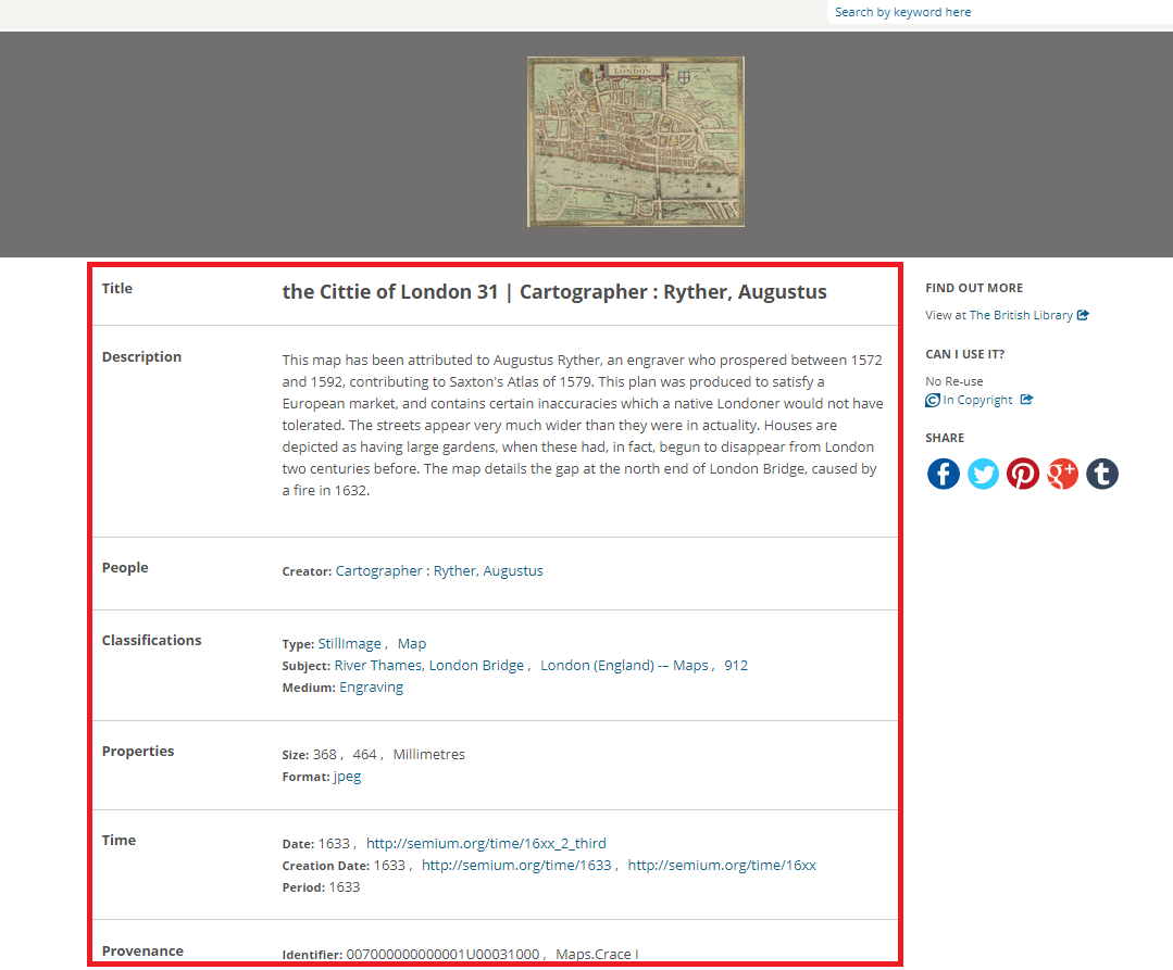 Linked Open Data | Europeana Pro