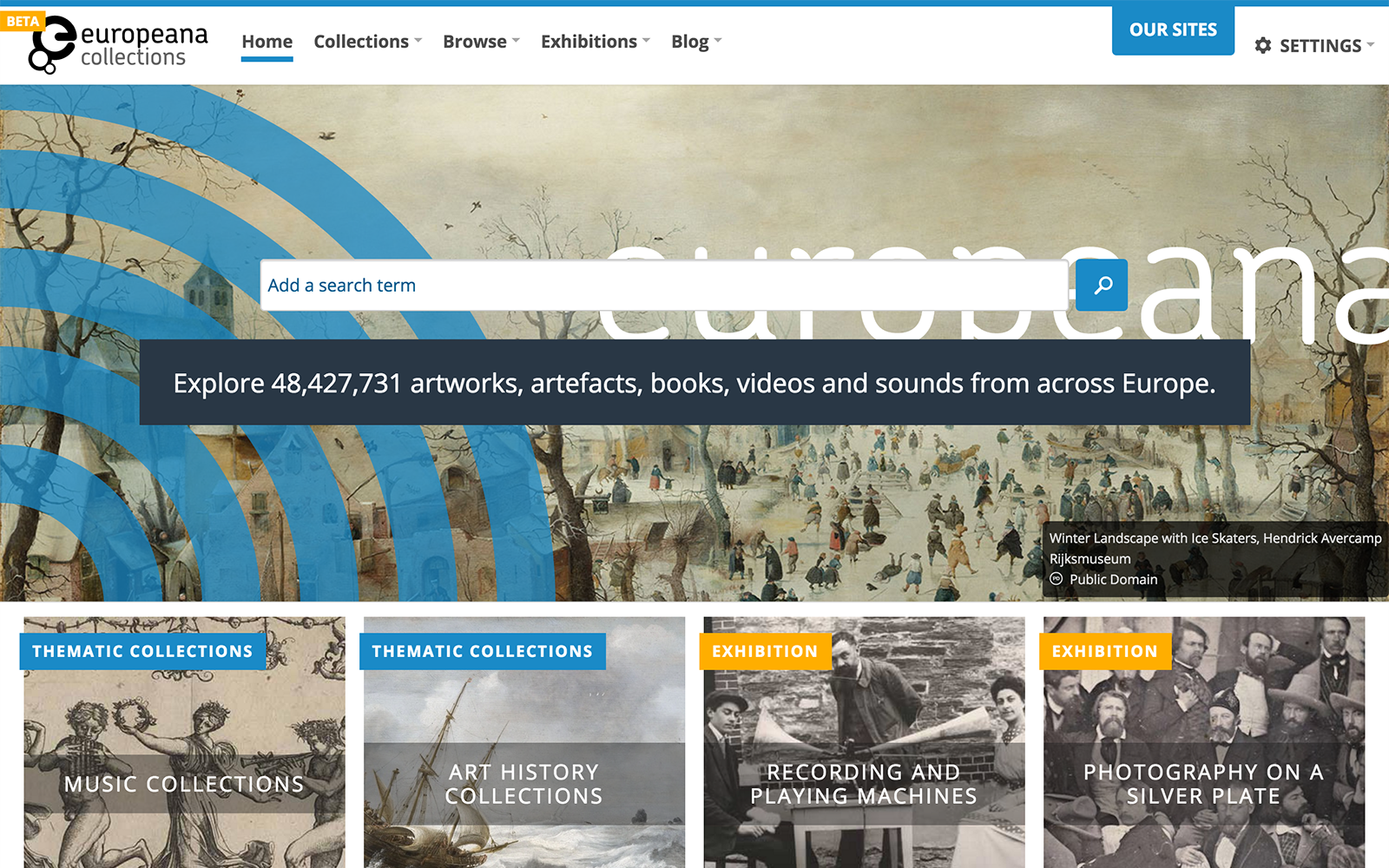New Europeana Collections site brings people closer to culture | Europeana  Pro
