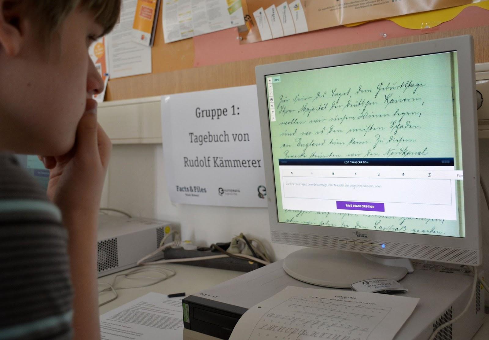 Transcribing Europeana 1914-1918 | Europeana Pro
