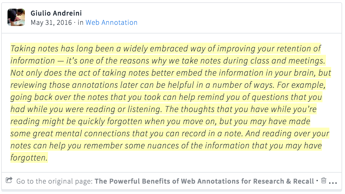 A Paradigm Of Humantext Interaction That Has Been Utilized For  Centuries And On The Other Hand We Have A Technology (web Annotation) That  Has Failed To
