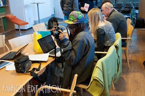 nordiska museet library fashion edit-a-thon europeana wikipedia wikimedia stockholm university studies