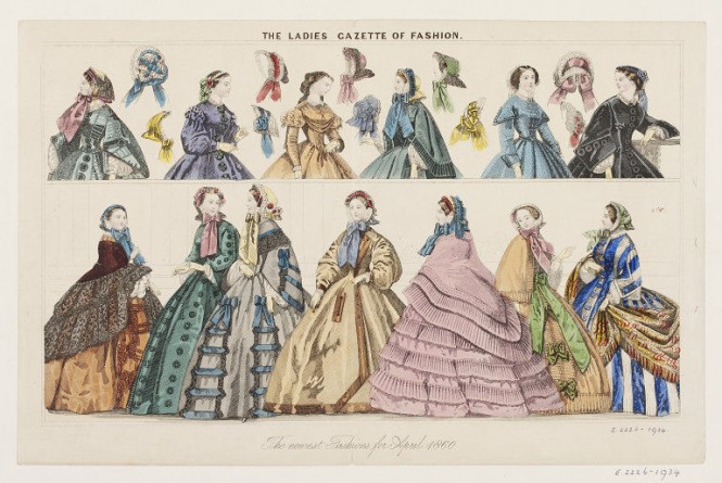 fashion plate 1800s victoria albert museum europeana fashion illustration