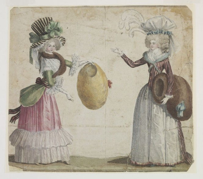 A Short History Of Fashion Illustration Blog Europeana Collections