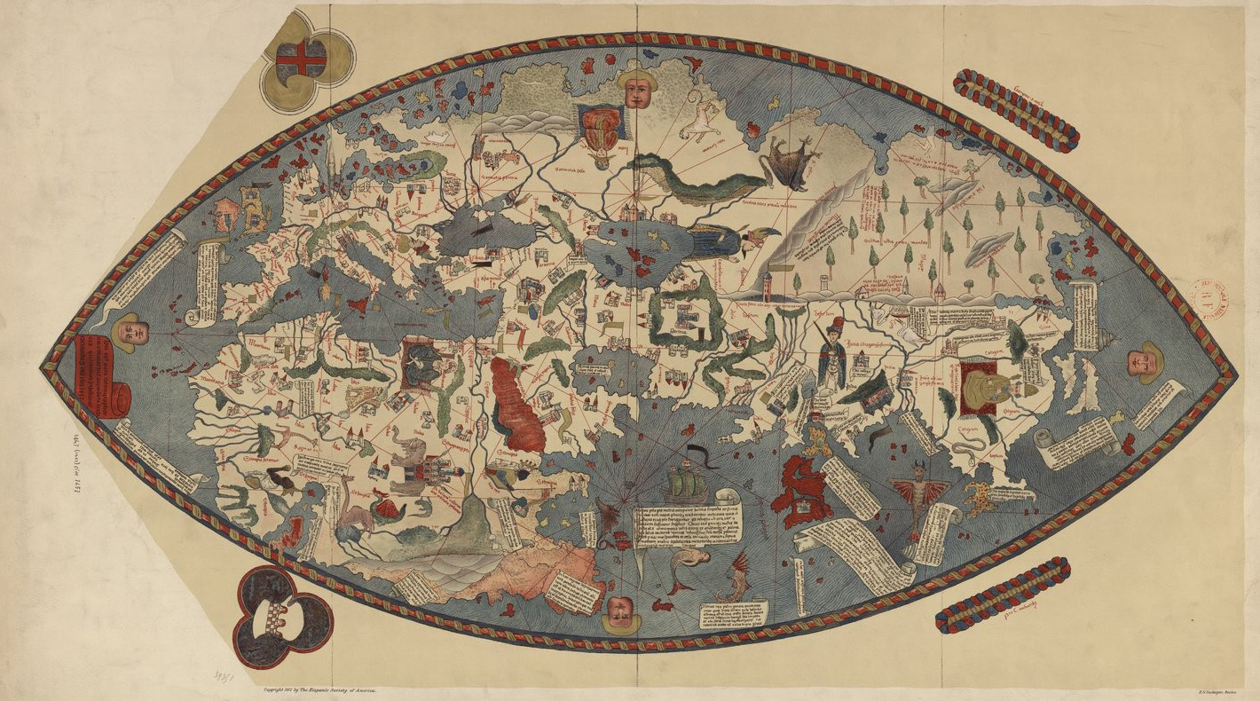 Maps for makers representing earth through time europeana pro mappemonde genoes world map 19th century national library of france public domain marked gumiabroncs Choice Image