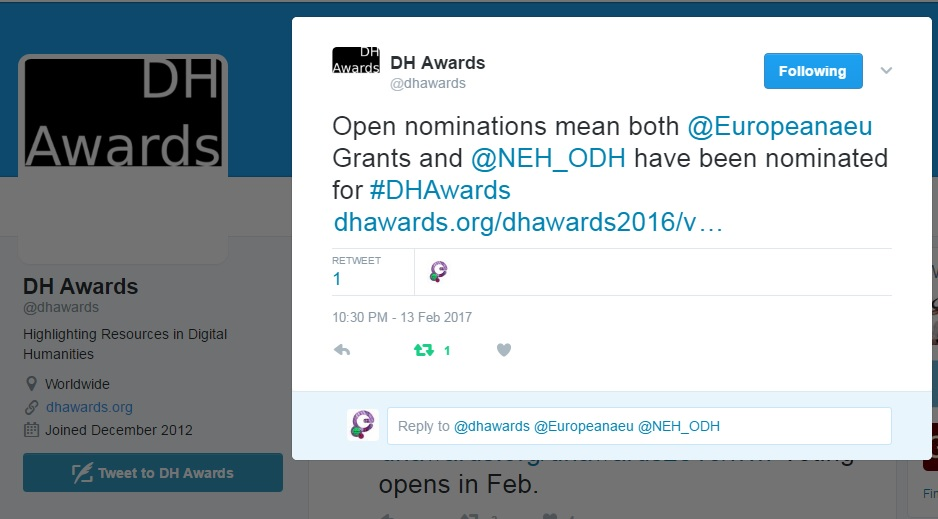 DH Awards 2016