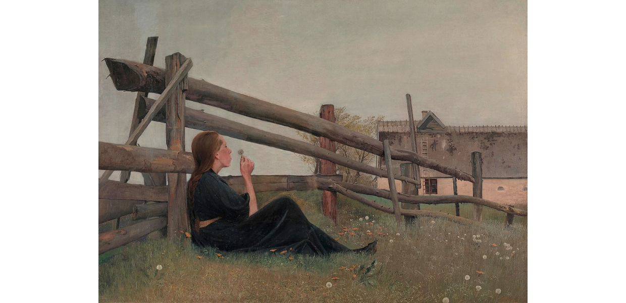 In the month of June, Laurits Andersen Ring, 1899,  Collection National Museum of Art, Architecture and Design, Oslo, PD (and PD-US-expired)
