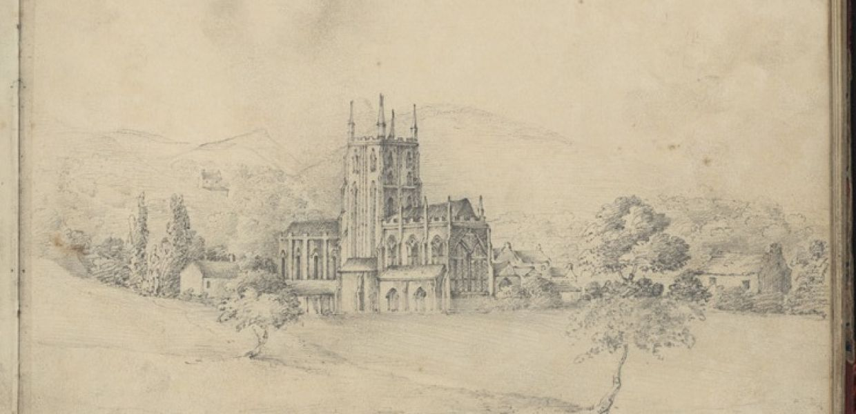 Sketches in Wales | John Louis Petit, 1801-1868, The National Library of Wales, United Kingdom, CC BY-SA
