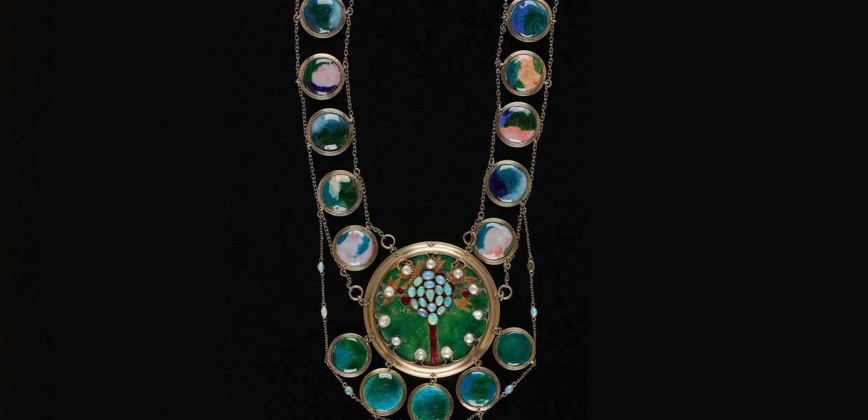 The Christabel Necklace, 1893, Sir George James Frampton, Birmingham Museums and Art Gallery, CC0