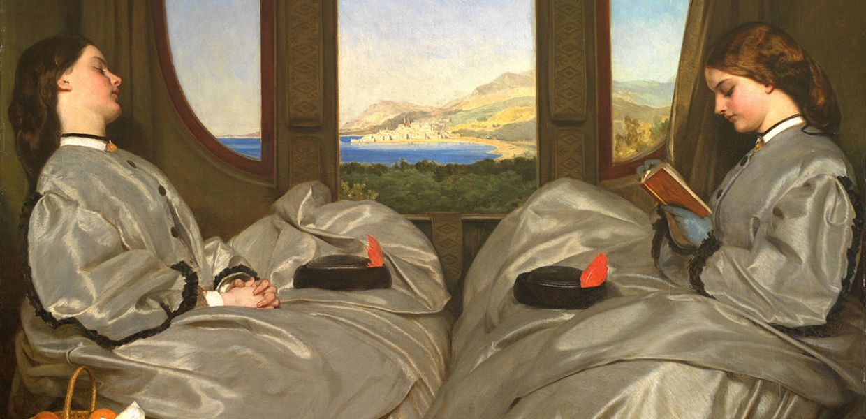 The Travelling Companions (detail), 1862, Augustus Leopold Egg, Birmingham Museums and Art Gallery, CC0