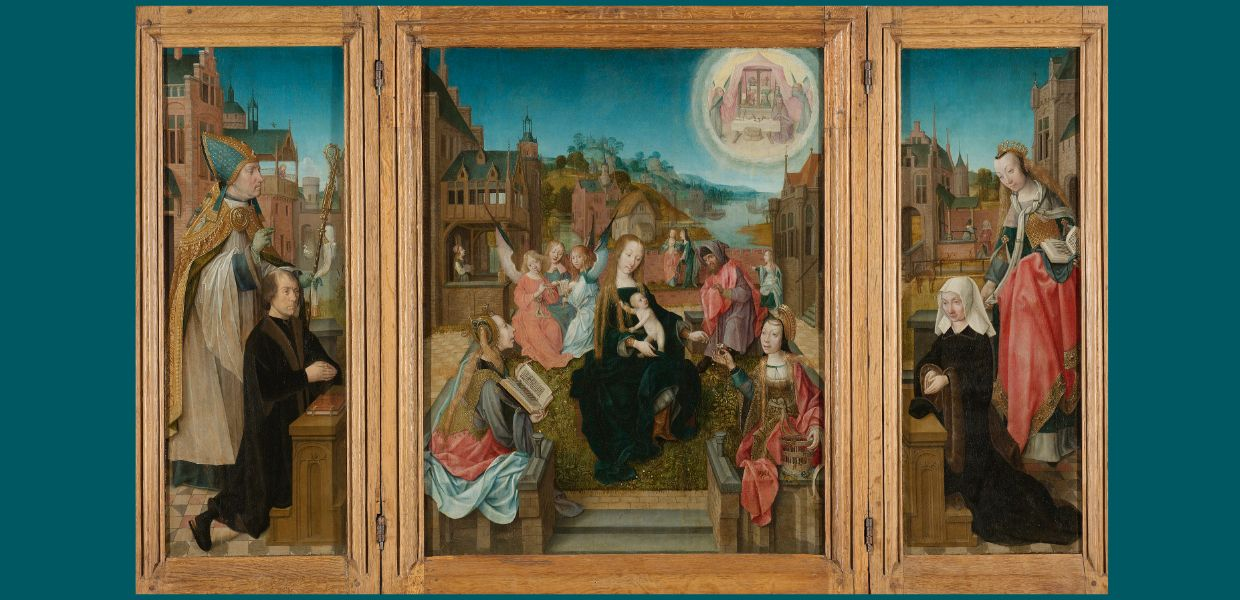 Triptych with Virgin and Child - an example of a high-quality record