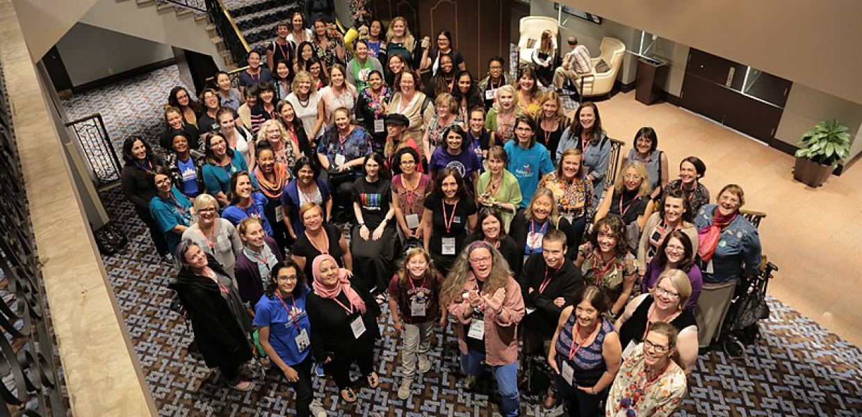 WikiWomen meetup at Wikimania 2017. Wikimania is the annual Wikimedia conference. Photo Victor Grigas, CC BY-SA 3.0