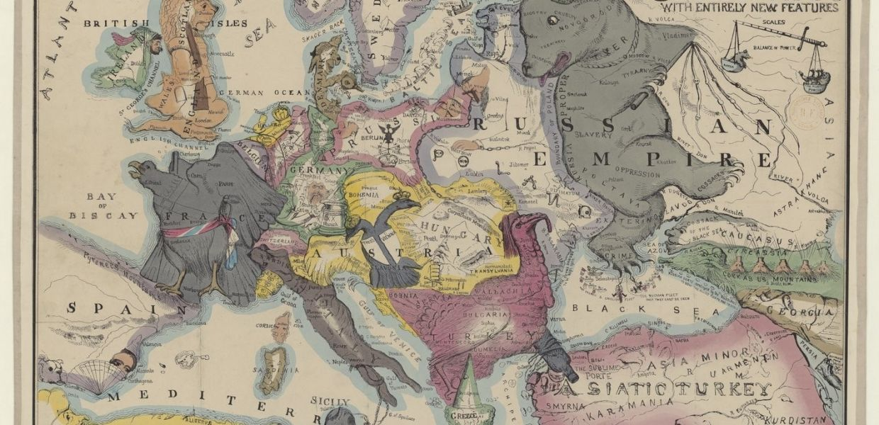 Picture of: Maps For Makers Satirical Political And Unusual Maps Europeana Pro