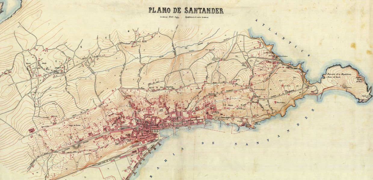 Military maps and drawings from the Spanish Ministry of ...