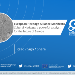 European Heritage Alliance Manifesto - Cultural heritage: a powerful catalyst for the future of Europe