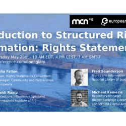Introduction to Structured Rights Information: Rights Statements