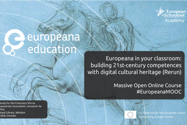 Rerun of 'The Europeana in your classroom: building 21st-century competences with digital cultural heritage'