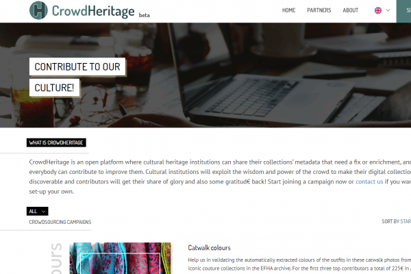 CrowdHeritage Platform