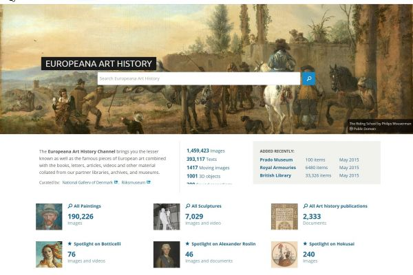 Europeana 280 – Art from the 28 countries of Europe