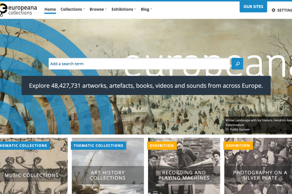 New Europeana Collections site brings people closer to culture
