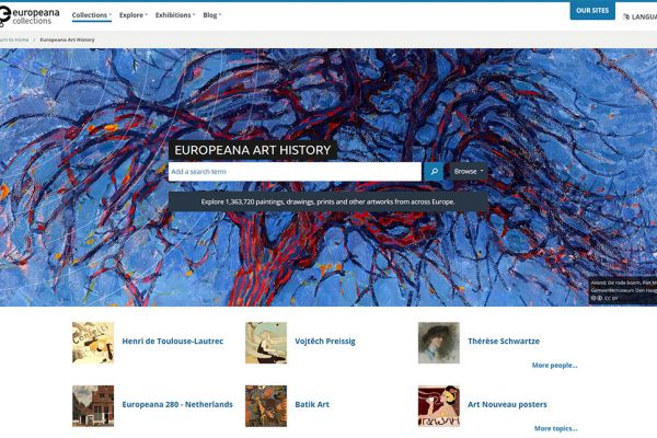 Europeana Generic Services: Opportunity to fund a Thematic Collection