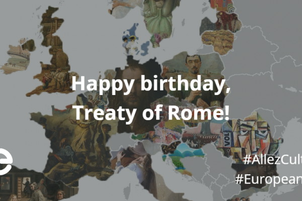 Reinforcing the European dream 60 years after the signing of the treaty of Rome