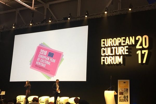European Culture Forum: kicking off the European Year of Cultural Heritage and the Europeana Migration campaign