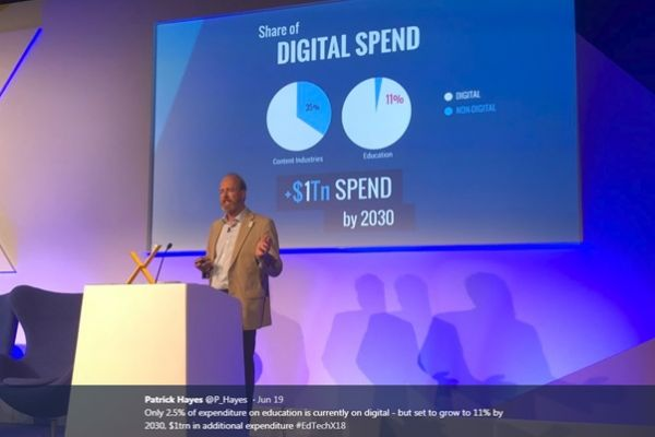 The future of education is digital: insights from EdTechXEurope 2018