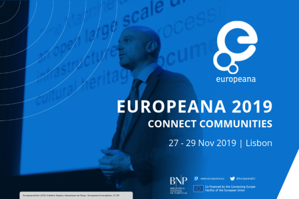 Europeana 2019 - Meet our speakers - Frédéric Kaplan