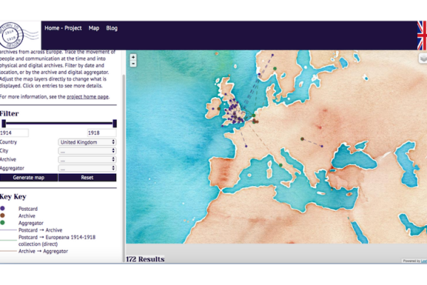 Interactive mapping of memories