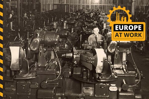 Europe at Work: Introducing Europeana's new season
