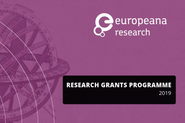 Announcing the winners of the Europeana Research Grants Programme 2019