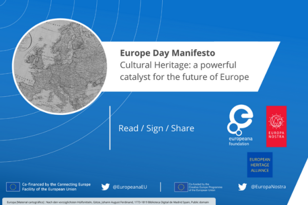 Europe Day Manifesto - Cultural heritage: a powerful catalyst for the future of Europe