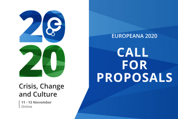 Opening up conversations - how we are selecting proposals for Europeana 2020