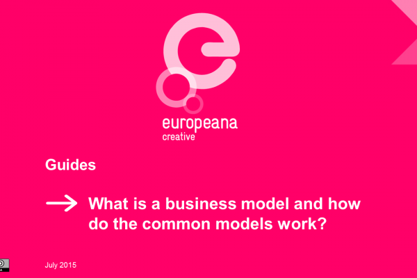 Guide 1 - Business models