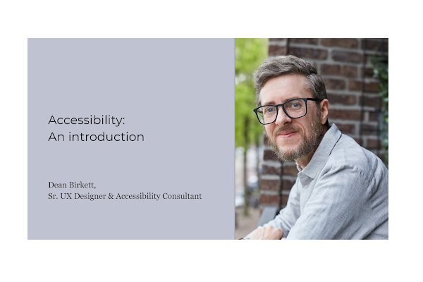 Introduction to Accessibility for UX Designers