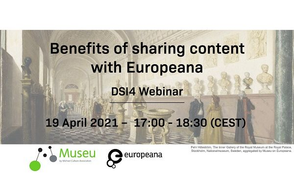 DSI Webinar: Benefits of sharing content with Europeana