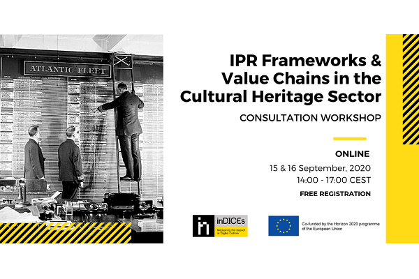 inDICES Consultation Workshop with Cultural Heritage Sector