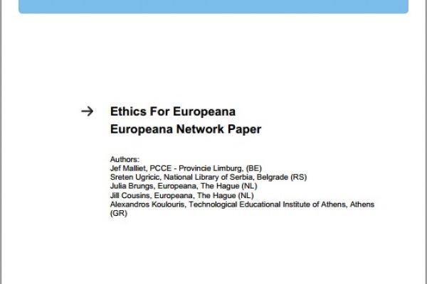 Ethics For Europeana