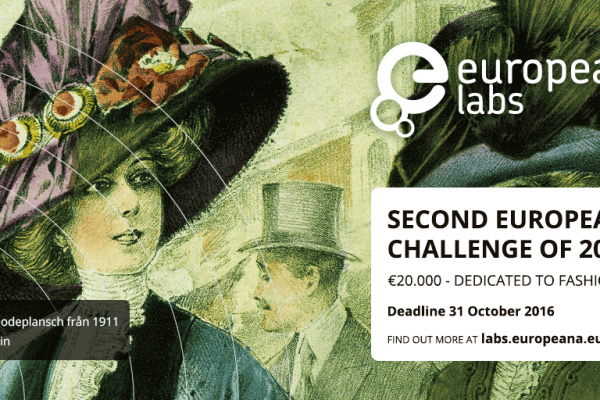 The next Europeana Challenge 2016 is open