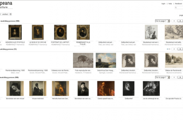 Search Engine For Europeana