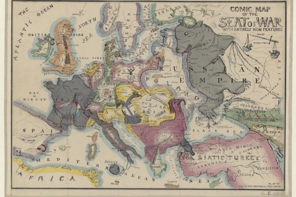 Maps for makers: Satirical, political and unusual maps