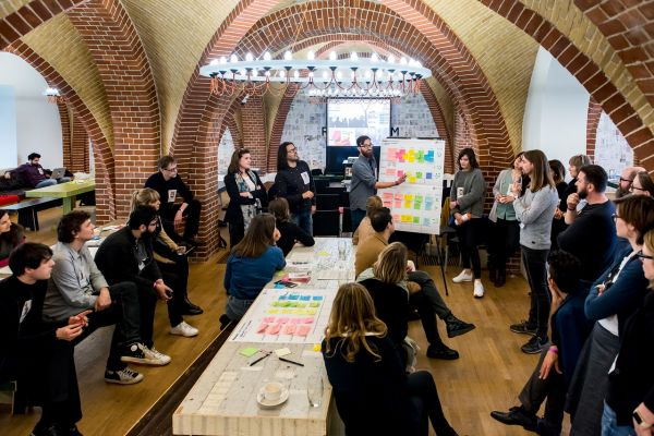 Europeana Fashion Co-creation Marathon at Rijksmuseum! 8 hours, 6 prototypes!