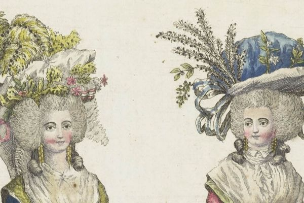 Historical fashion drawings, prints and patterns