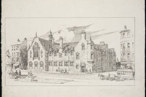 Architectural drawings from Edinburgh