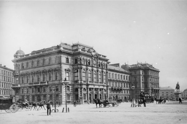 Vintage photographs of Vienna