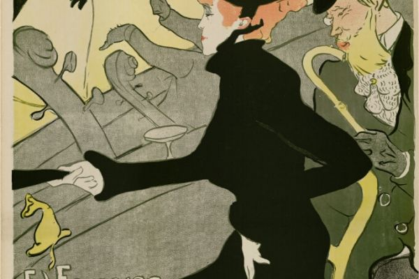 Posters, sketches and drawings by Toulouse-Lautrec