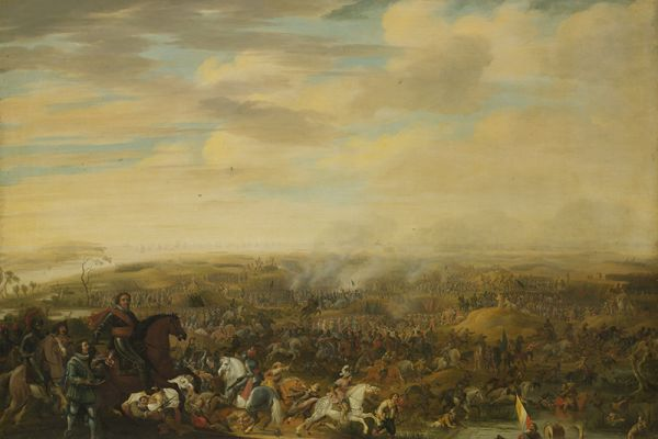 Battles on artwork and drawings from the Rijksmuseum in Amsterdam