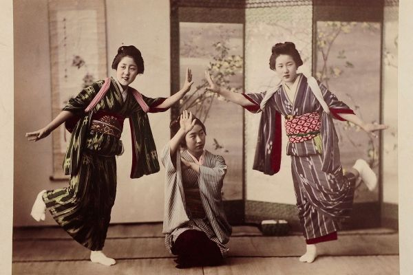 Early photographs of Japan