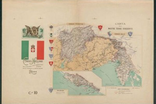 29 Maps from the War Collection of Biblioteca universitaria Alessandrina