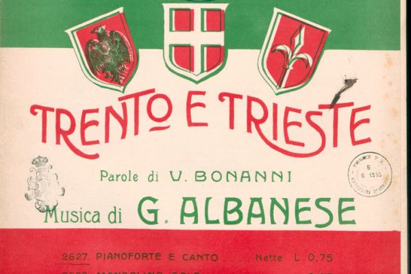 Italian Songbooks and Sheet Music from the First World War period